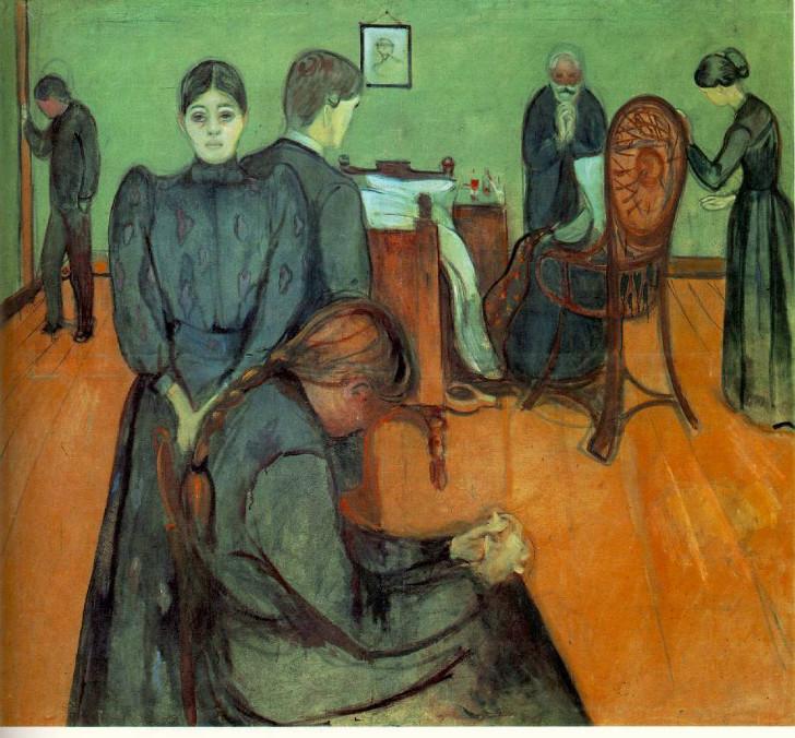 Edvard Munch - Hasta Odasında Ölüm