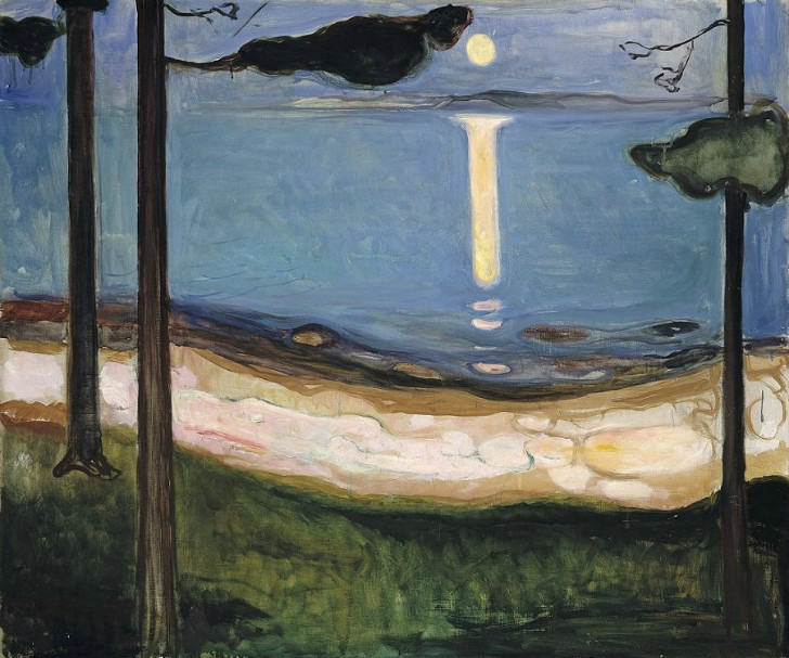 Edvard Munch - Moonlight