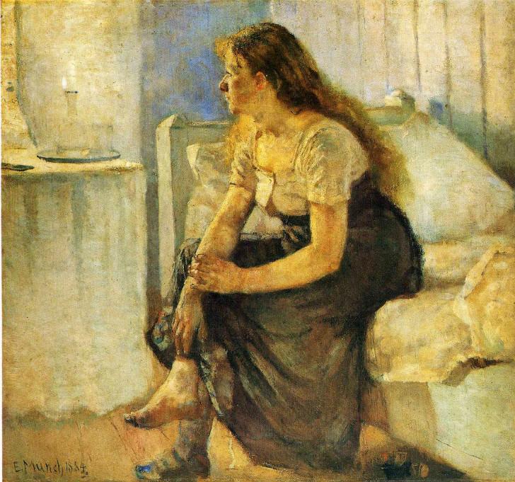 Edvard Munch - Morning