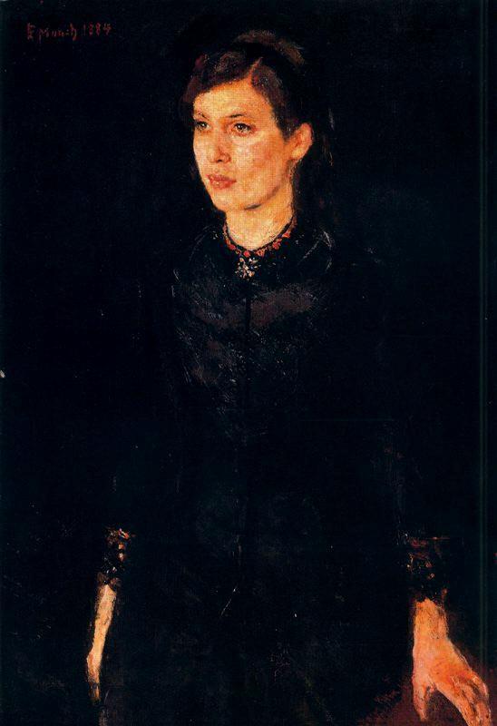 Edvard Munch - Sister Inger