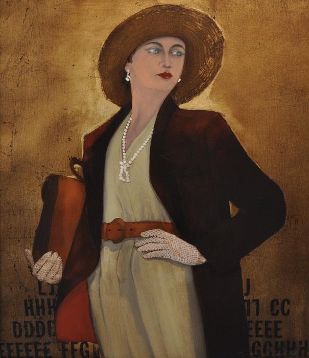 Faruk Cimok - Şapkalı Kadın