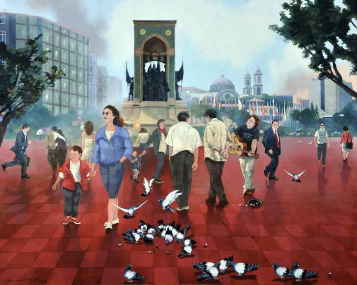 Faruk Cimok - Taksim Meydanı