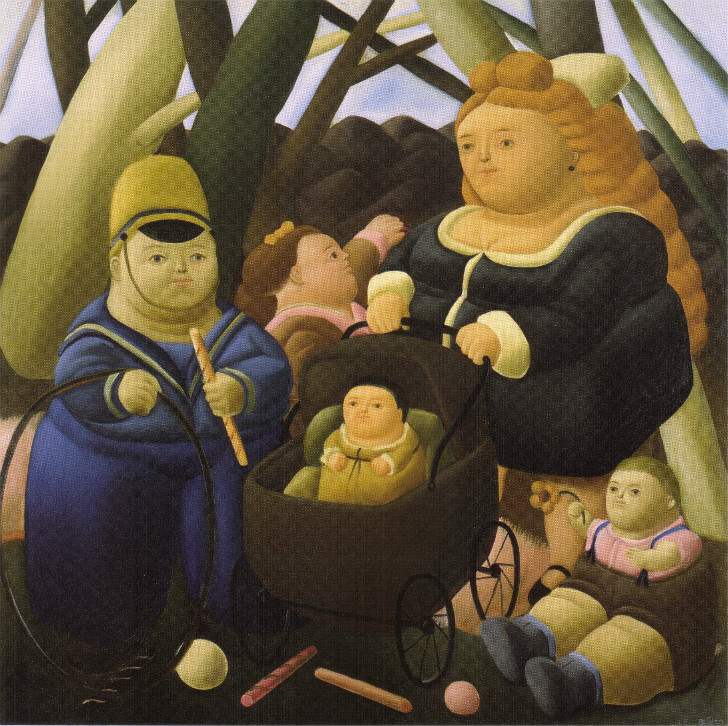Fernando Botero - Children Fortunes