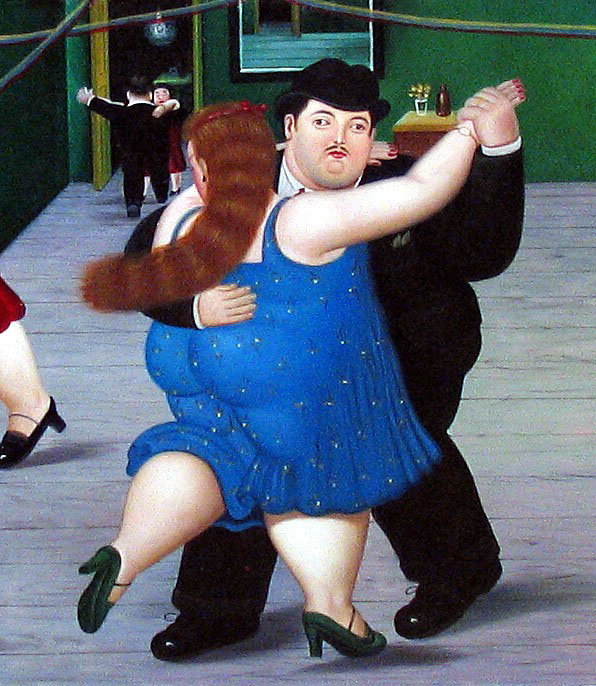 Fernando Botero - Dancing Couple