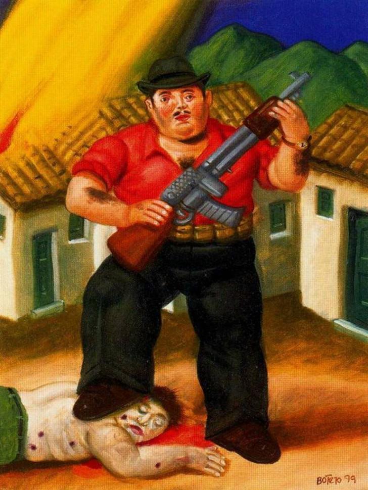 Fernando Botero - El Cazador