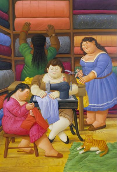 Fernando Botero - El Costurero
