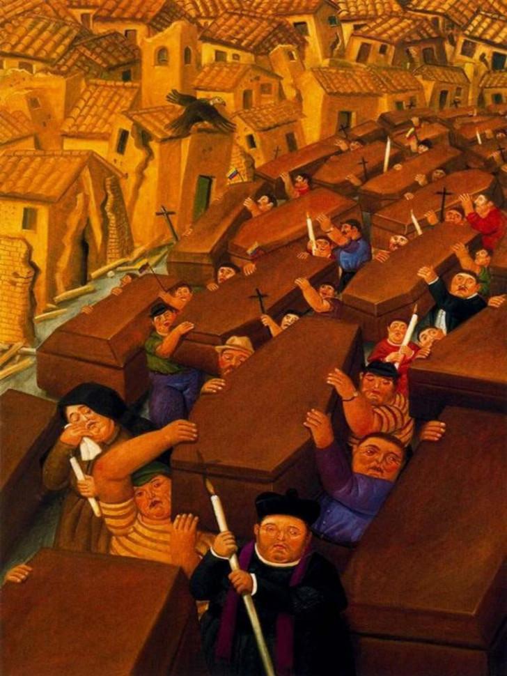 Fernando Botero - El Desfile