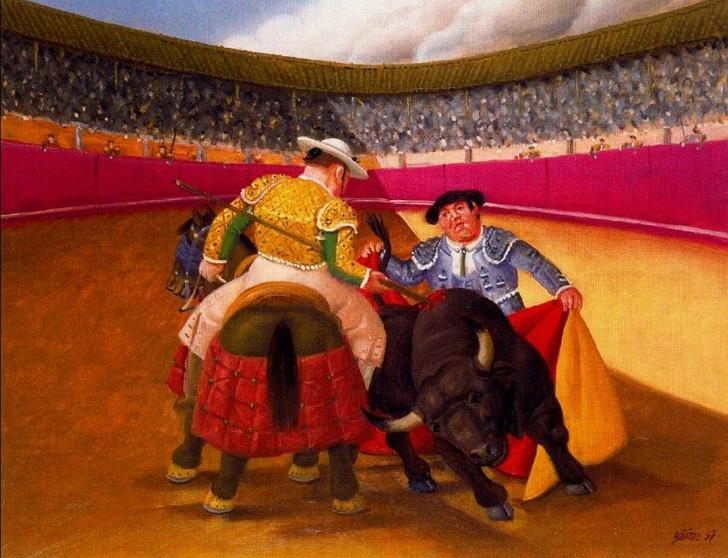 Fernando Botero - La Pica