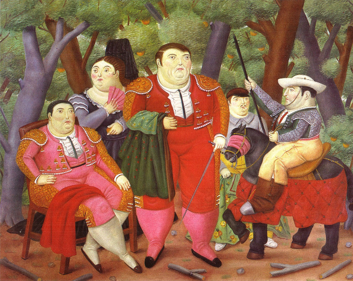 Fernando Botero - Lefty and His Gang