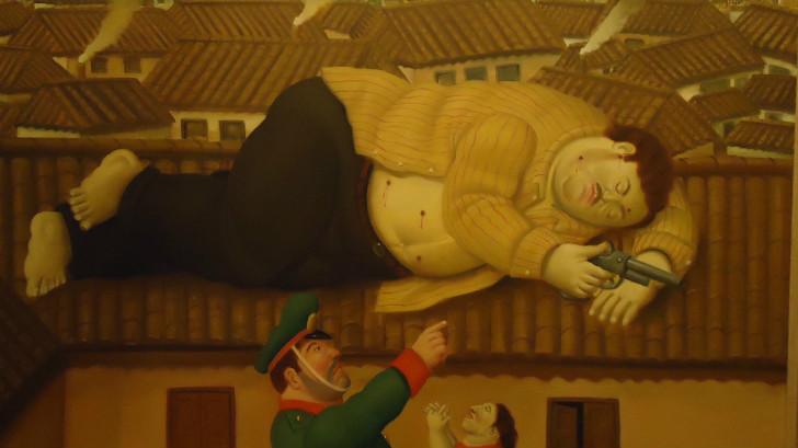 Fernando Botero - Pablo Escobar