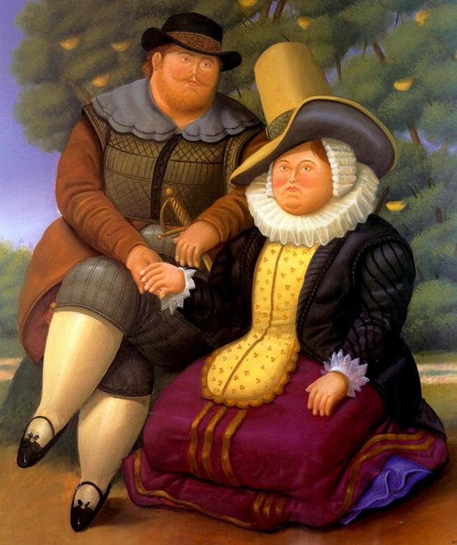 Fernando Botero - Rubens ve Karısı