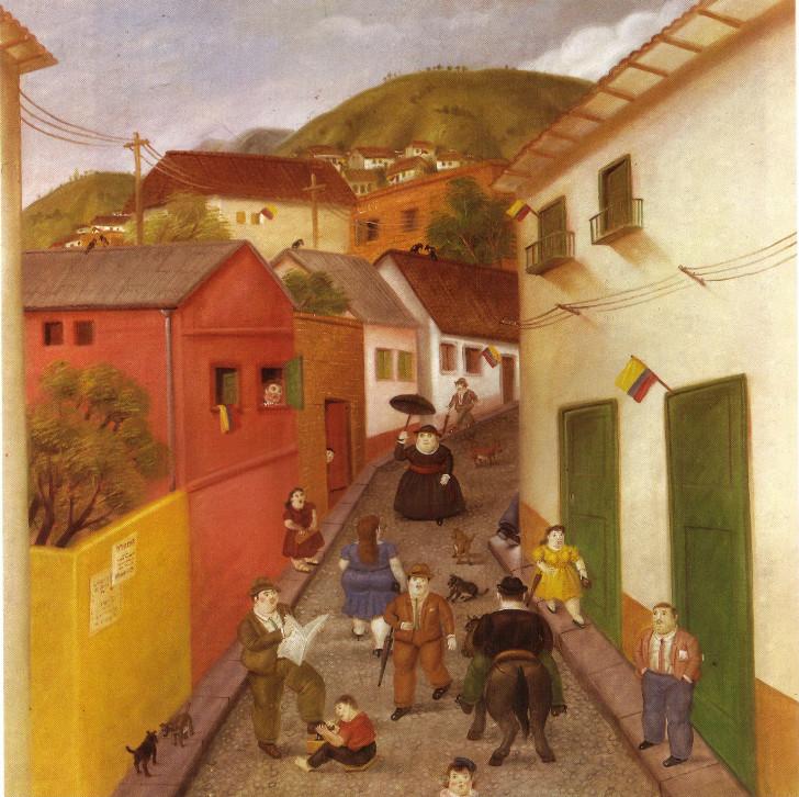 Fernando Botero - Street