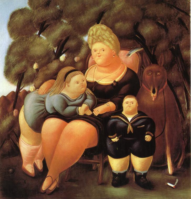 Fernando Botero - The Family