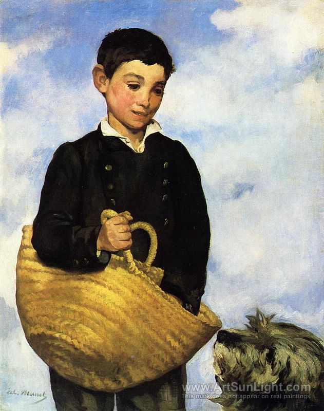 édouard manet - Çocuk ve Köpek