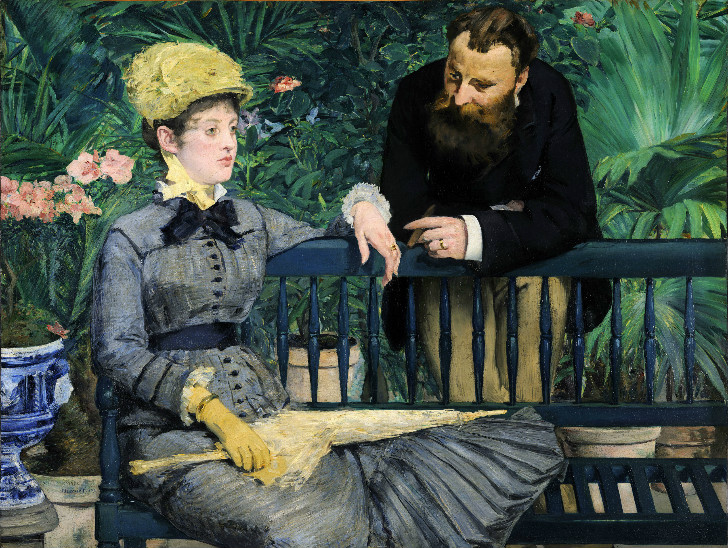 édouard manet - In the Conservatory