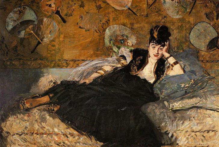 édouard manet - Nina de Callias Portresi