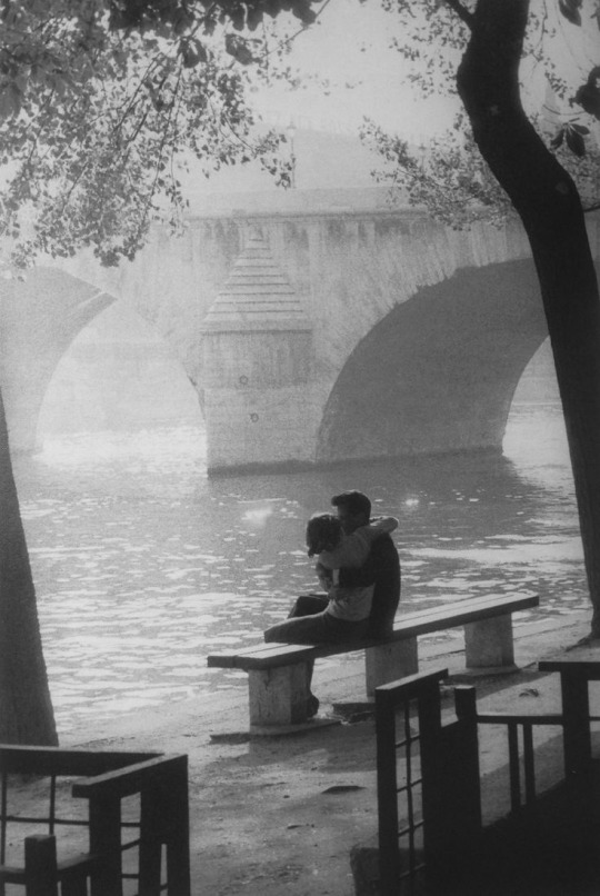 Willy Ronis, Pont des Arts, Paris, 1957