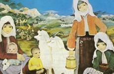 türk resminde anadolu insanı