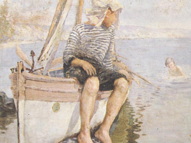 İzzet Ziya - Denizde Çocuklar
