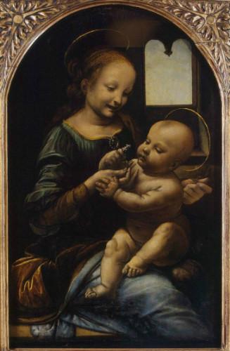 Benois Madonna, leonardo da vinci tabloları