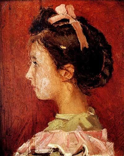 Osman Hamdi Bey - Kurdelalı Kız