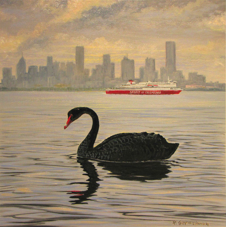 Peter Gerasimon - Black Swan in Melbourne