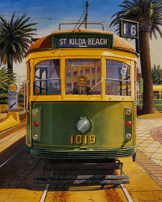 Peter Gerasimon - The 1019 Tram
