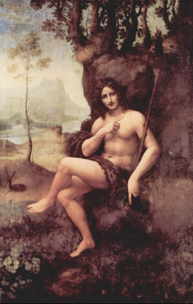 Leonardo da Vinci, St. John The Baptist