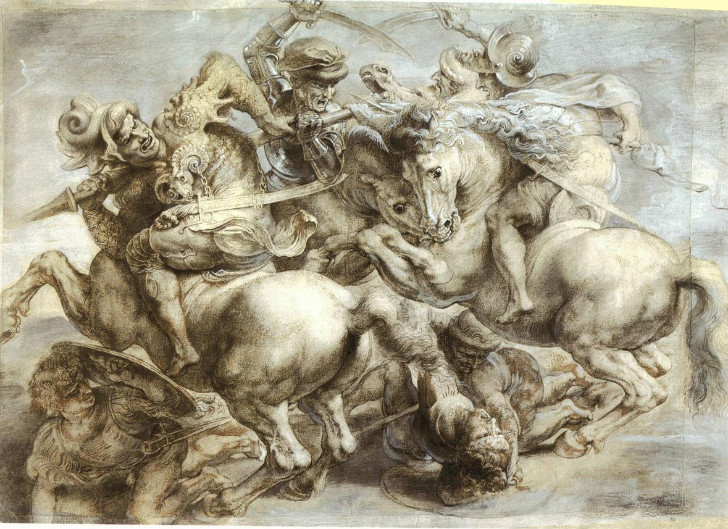 Leonardo da Vinci, The Battle Of Anghiari