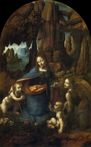 Virgin of the Rocks, leonardo da vinci tabloları