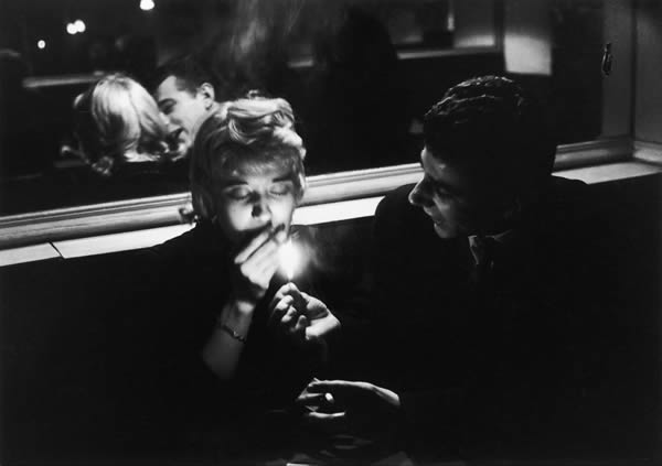 Willy Ronis - Cafe Le Bidule, Rue De La Huchette, 1957