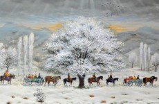 türk ressamların at resimleri