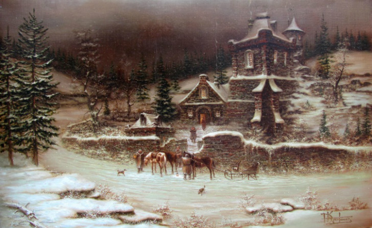 winter in transylvania