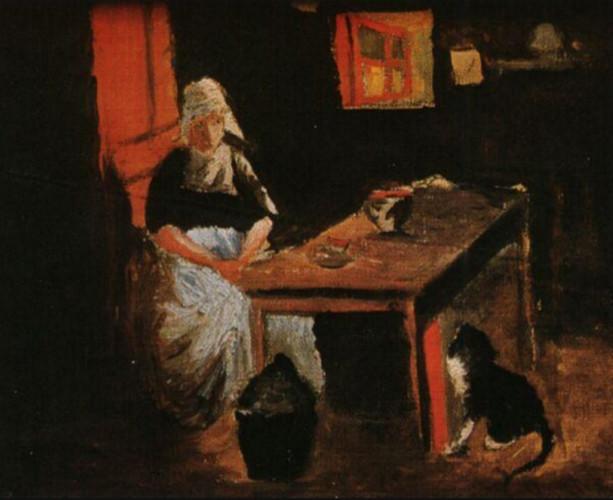 dutch interior, salvador dali tabloları