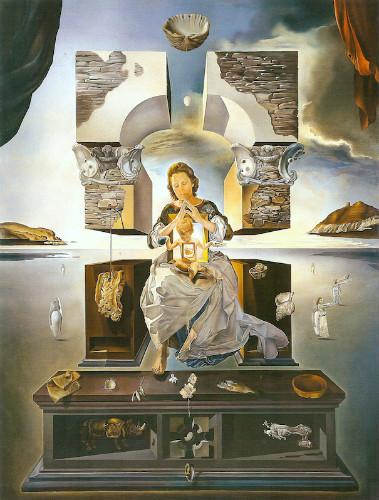 the madonna of port lligat, salvador dali