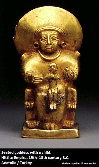 tanrıça heykeli