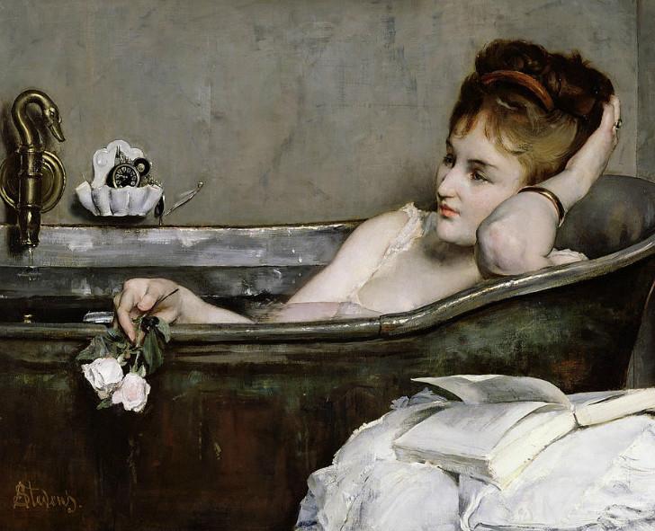 alfred stevens le bain