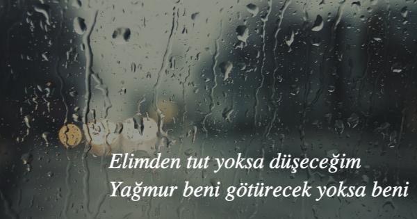 15 ünlü şairimizin Duygu Yüklü Yağmur şiiri