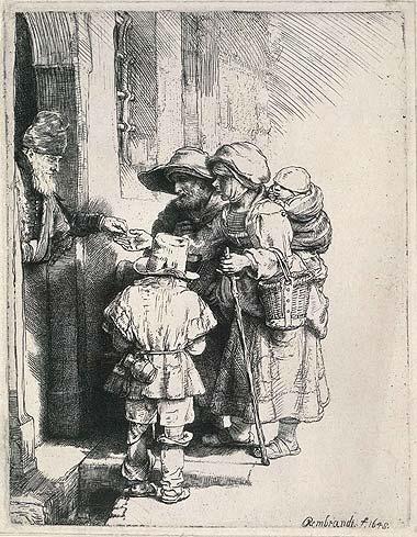 rembrandt beggars