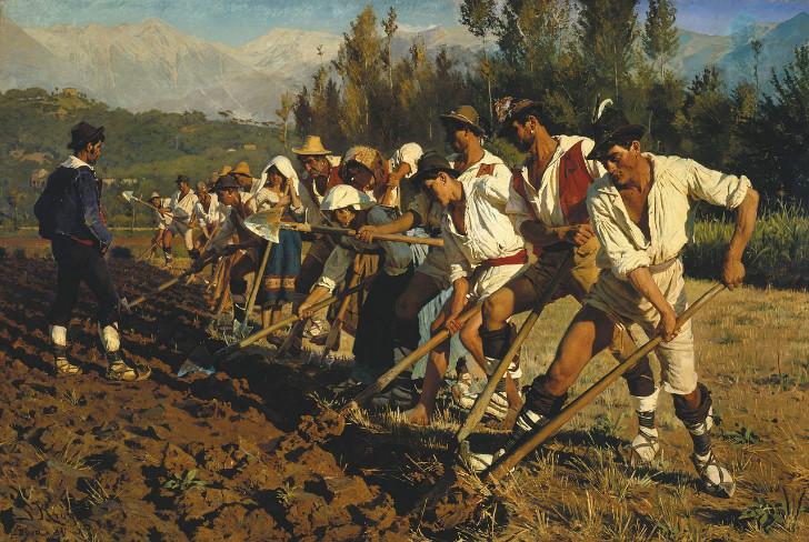 italienske markarbejdere