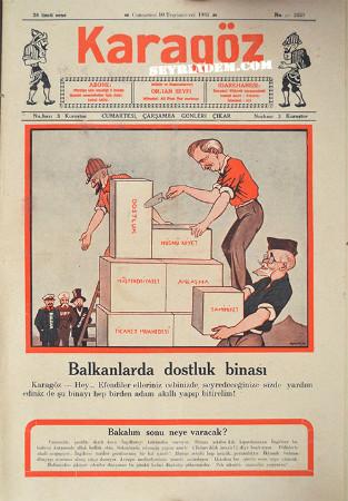 karagöz karikatür dergisi