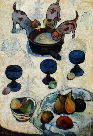 paul gauguin köpek resimleri