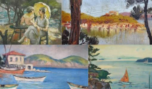 türk ressamların ada resimleri