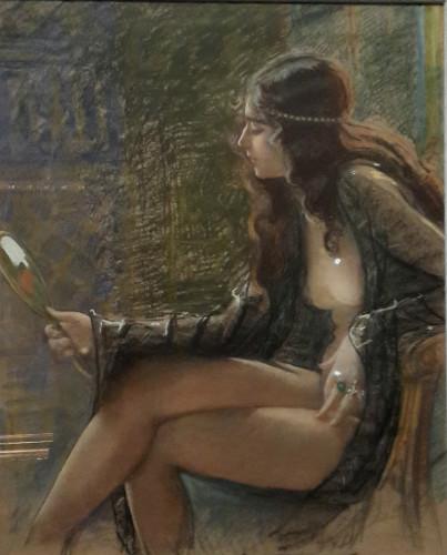 mihri musfik nü tabloları