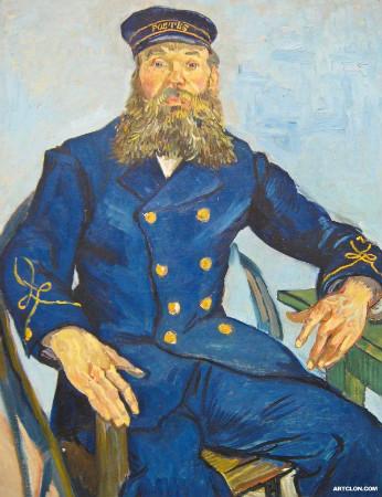 van gogh - Postman Joseph Roulin