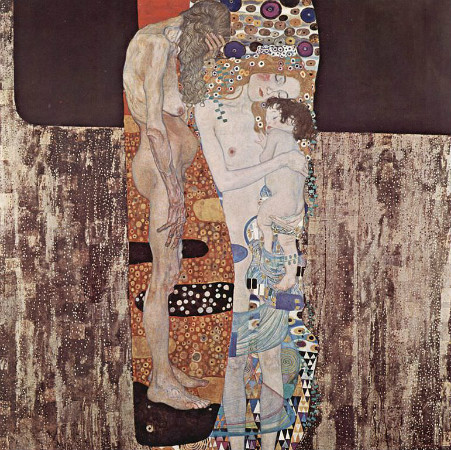 gustav klimt - three ages of woman