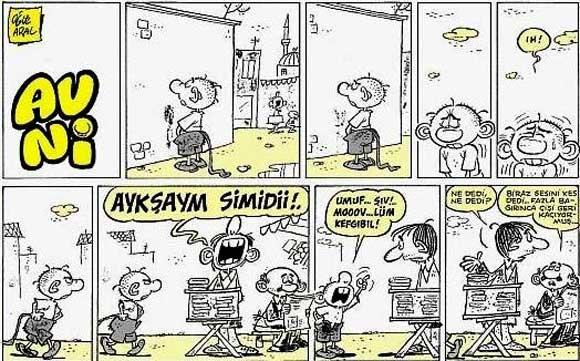 oguz aral karikatür