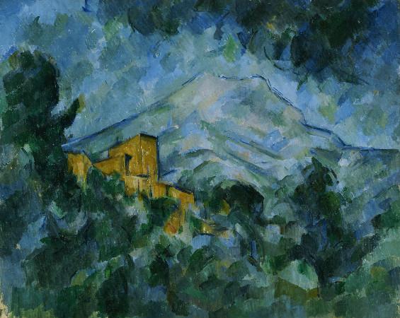 paul cezanne - mont sainte-victoire and chateau noir