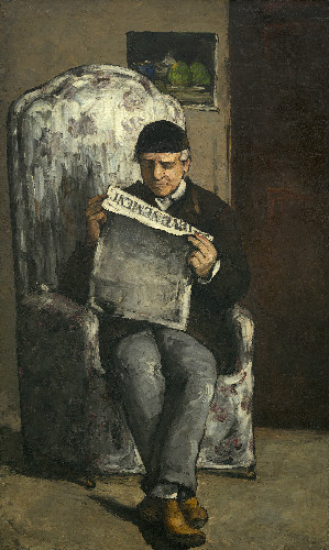 paul cezanne - the artists father