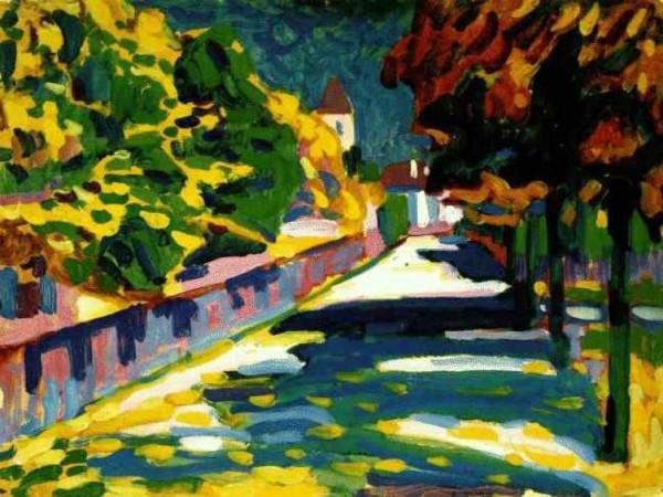 Wassily Kandinsky - Autumn in Bavaria